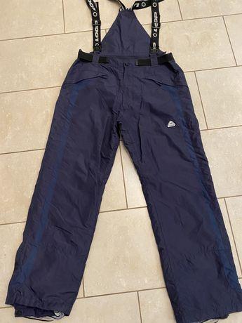 Loop spodnie zimowe narty/sanki granatowe XL uniseks, szelki