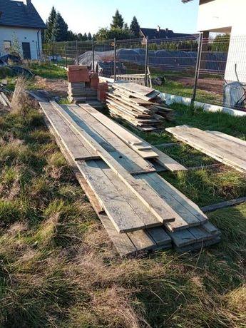 Deski szalunkowe budowlane kantówki łaty szałunkowe szalunek szałunek