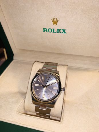 Rolex Oyster Perpetual 41  GMF SS 904L Silver Dial Swiss 3230