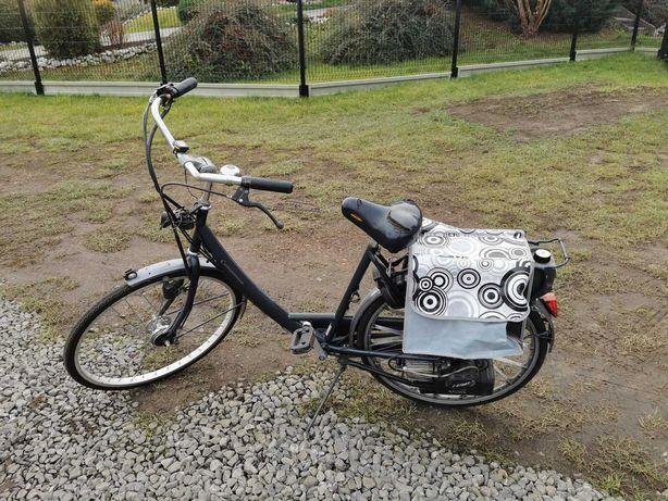 Rower spalinowy.