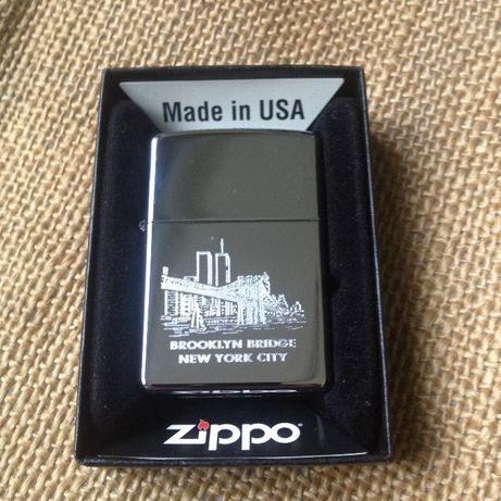 Зажигалка zippo brooklyn bridge (оригинал)