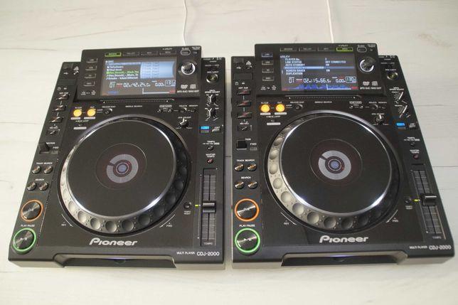 2 x Pioneer CDJ 2000 Idealne 2012 Gwarancja Skup Zamiana DJM 850/900