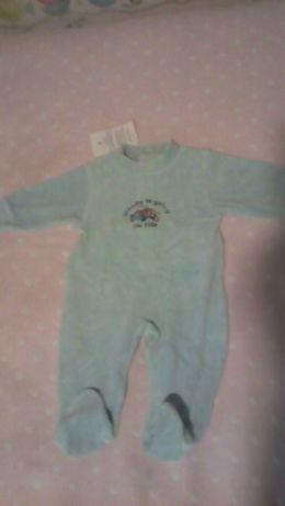 Babygrow menino 3 meses NOVO