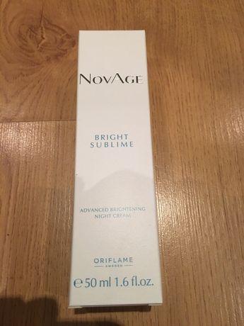 Nowy rozjaśniający krem na noc NovAge Bright Sublime 50 ml z Oriflame