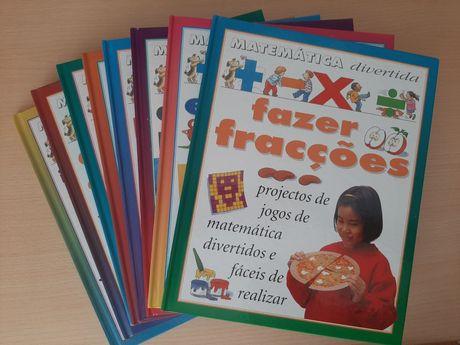 Enciclopédia de matemática (8 livros)