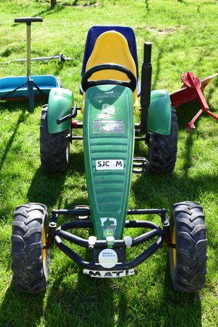 Gokart Berg duży traktor John Deere TRAXX BFR