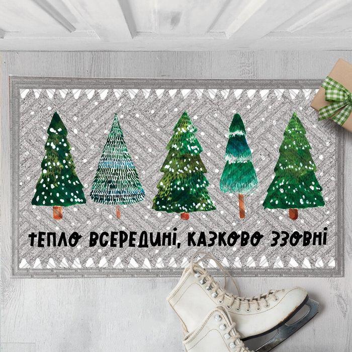 Новогодний коврик Лозовое - изображение 1