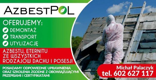 Azbest Eternit Demontaż Utylizacja Transport AzbestPol