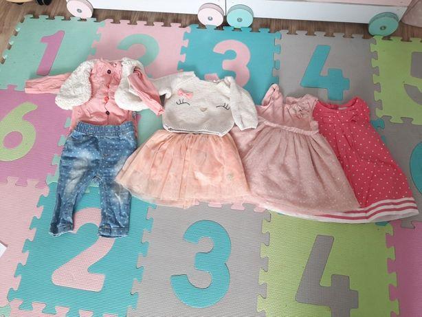 Piękne ubranka dziecięce, stan idealny, rozmiar 68