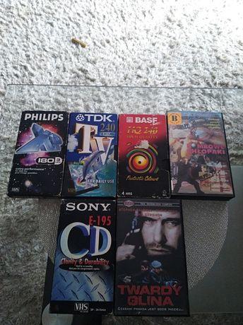 Kasety VHS filmy