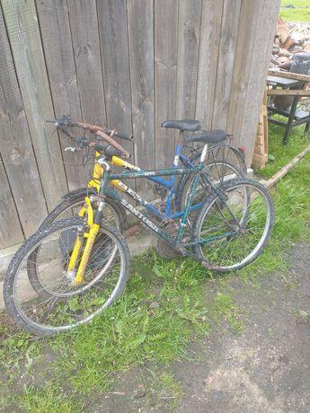 Dwa rowery do naprawy