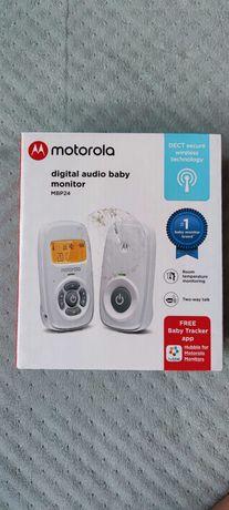 Motorola Digital Audio Baby Monitor MBP24 Cyfrowa Niania Audio Nowa