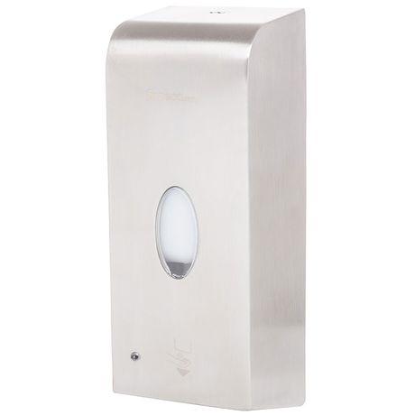 Automatyczny dozownik do mydła w płynie Faneco LAB 1 litr stal matowa