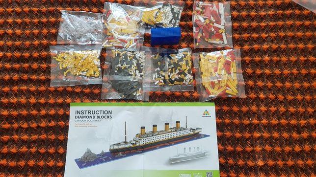 конструктор lego корабль Титаник 1860 деталей