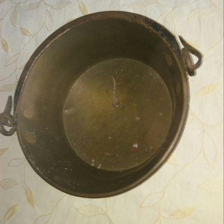 caldeira em cobre, muito antiga.