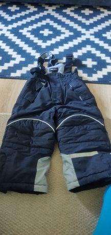Spodnie kombinezonowe narciarskie H&M, 98