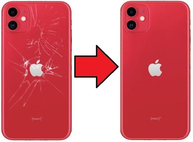 Tylna klapka tył iPhone 8 X XS XS 11 12 z wymianą od 200zł Żelazna 89