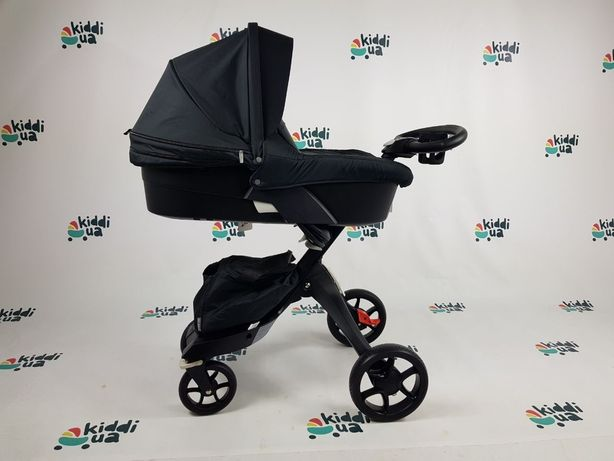 Новая коляска dsland xplory v8 black аналог stokke