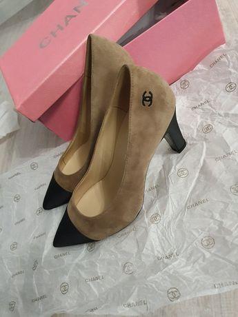 Chanel туфли стелька внутренняя 24 см