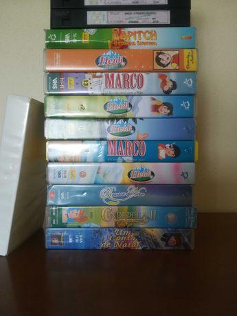 Cassetes VHS infanto-juvenis