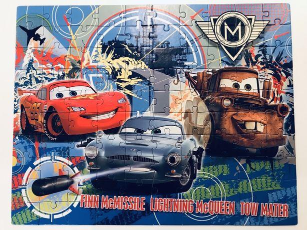 Puzzle Zygzak McQueen Auta 100szt prezent