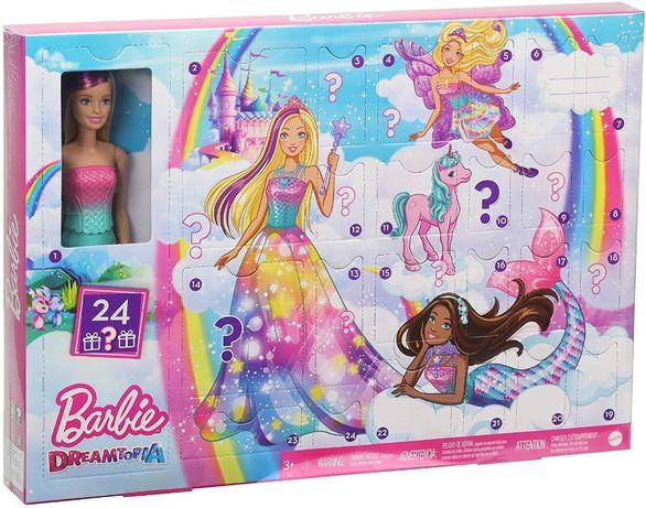 Адвент - календарь Барби Дримтопия Barbie Advent Calendar Dreamtopia