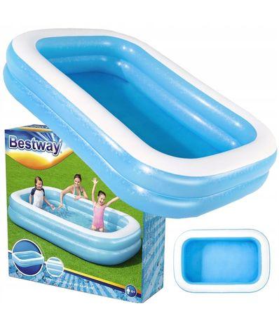 BESTWAY basen prostokątny NOWY 262 cm