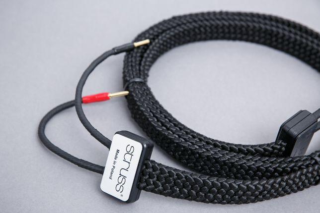 Kable głośnikowe STRUSS S-2 (2 x 2 mb). Przygotuj się na Więcej!