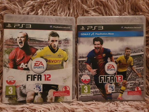 Gra ps3 FIFA 12 FIFA 13 prezent