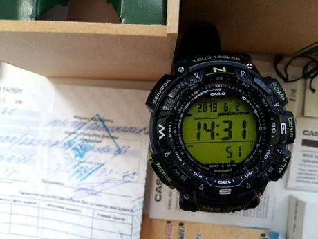 часы casio protrek 240