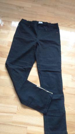 Leginsy spodnie jeans elastyczne z gumką XL-XXL czarne