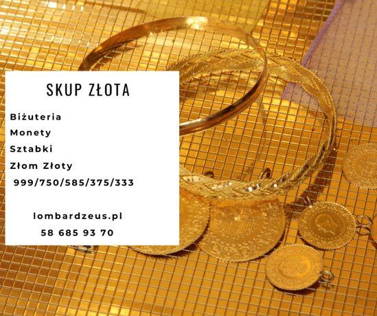 Skup Złota sztabki ,monety ,biżuteria najlepsze ceny