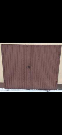 Brama, drzwi garażowe dwuskrzydłowe