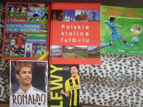 Zestaw książki piłka nożna