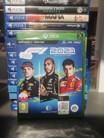 Gra F1 2021 Xbox One / Series X  PL/ Nowa/ Folia/Sklep/ Poznań