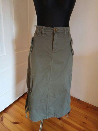 Spódnica dżinsowa z kieszeniami rozmiar 40