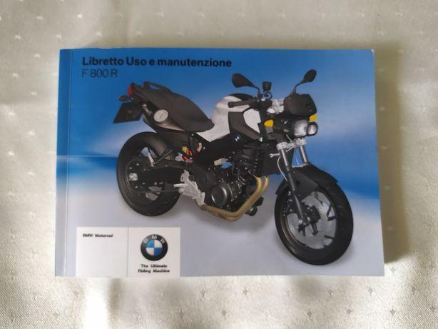 BMW F800R Instrukcja obsługi książka serwisowa