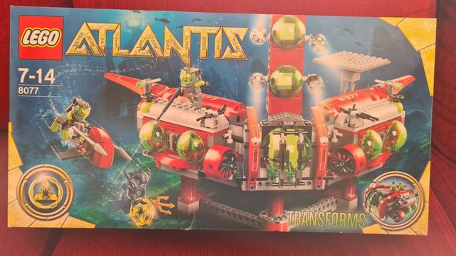 Lego 8077 - Atlantis Exploration HQ