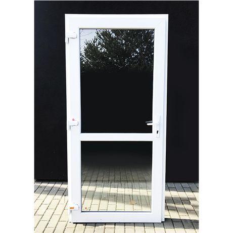 Nowe Drzwi Plastikowe 90x210 Białe