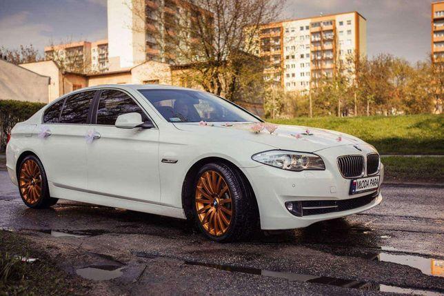 BMW  5  f10  biała