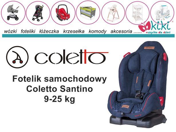 Fotelik samochodowy dla dziecka Coletto Santino 9-25 kg