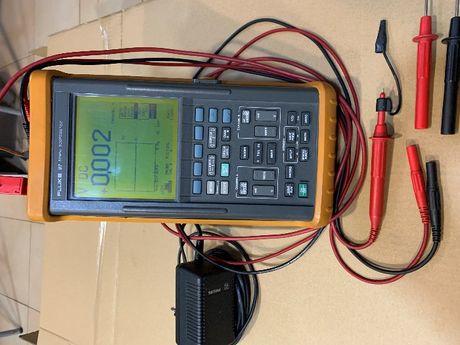 Philips Fluke PM97 50 MHz Digital Oscilloscopio Portátil