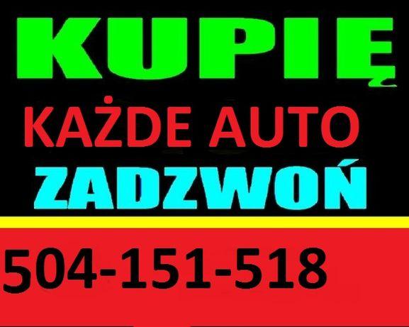 Skup Aut Samochodów w każdym stanie najlepsze ceny ! kasacja