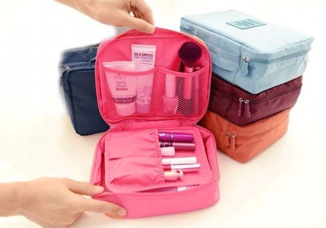 Bolsa de cosmética super prática Viagem Avião Bagagem NOVO