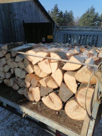 Drewno opałowe kominkowe  dąb buk