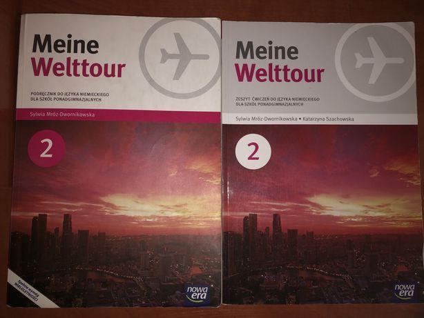 Meine Welttour 2 Podręcznik, Zeszyt ćwiczeń Nowa Era