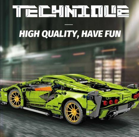 Nowy zestaw Lamborghini sian pasujący z lego technic