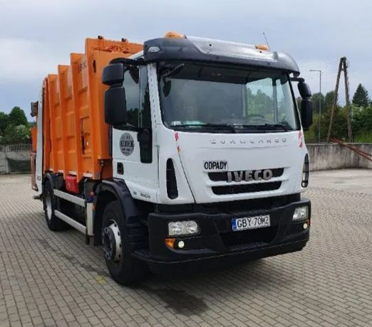 Samochód ciężarowy Iveco Eurocargo śmieciarka