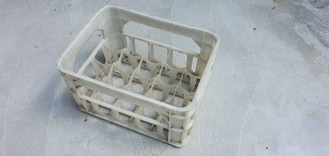 Pojemnik na butelki skrzynka na piwo 40x30x23 solidny plastikowy