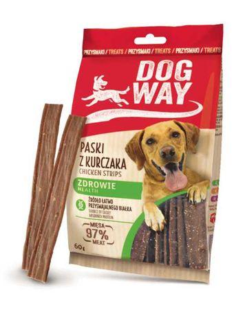 Przysmak dla psa, paski Dog Way z kurczakiem